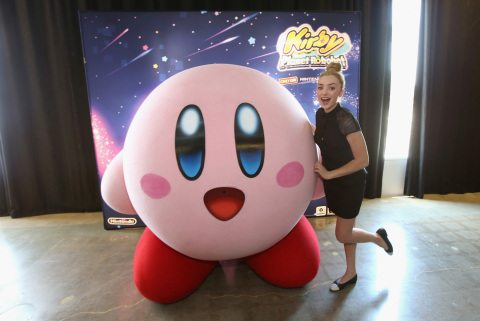 """CULVER CITY, CA - JUNE 22: In this photo provided by Nintendo of America, Peyton List from Disney's """"Bunk'd' who is starring in the upcoming feature """"The Thinning"""" attends the Kirby: Planet Robobot event celebrating the game's launch at Smashbox Studios in Culver City, California, on June 22, 2016. In this new action-packed adventure, Kirby gets new abilities and transformations, such as flamethrower arms and buzz-saw hands. (Photo by Jonathan Leibson/Getty Images for Nintendo of America) *** Local Caption *** Peyton List"""