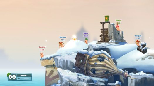 WORMS W.M.D ALL-STARS Pre-Order Edition Includes Rocket League, Saints Row IV and More
