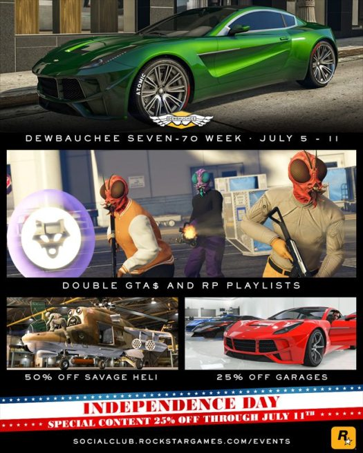 GTA Online Introduces the New Dewbauchee Seven-70 & More