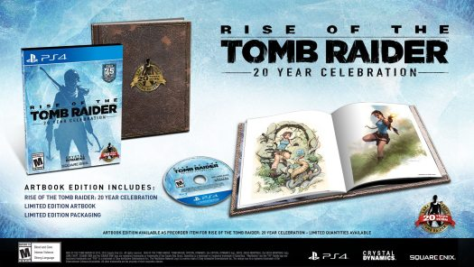 Rise of the Tomb Raider: 20 Year Celebration to Launch Oct. 11