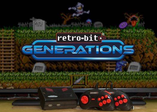 Retro-Bit Generations Revisits the Classics Featuring Capcom, Data East, Jaleco and More