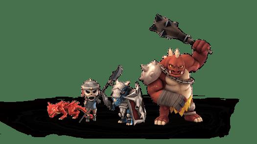 Super Dungeon Tactics Details Enemy Types