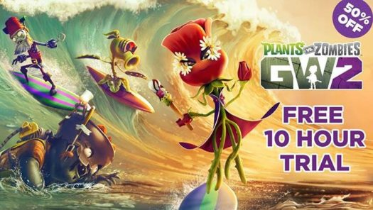 Try PLANTS VS. ZOMBIES GARDEN WARFARE 2 for Free this Summer and Get 50% Off