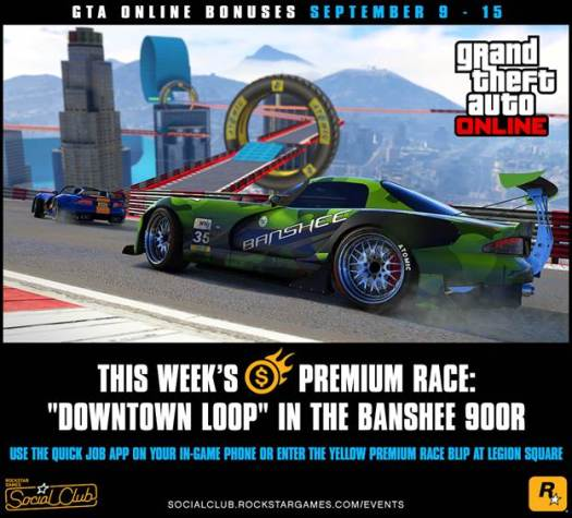 GTA Online Bonuses this Week and Other Details