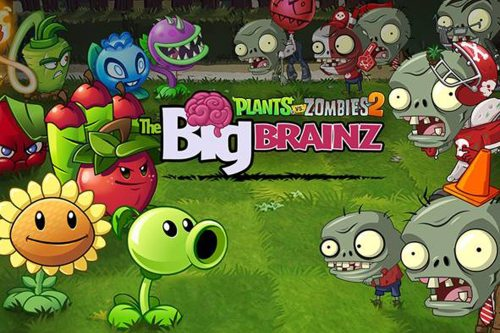 Plants vs. Zombies 2 Unlocks Worlds and Adds Huge-Headed Ghouls in Epic Big Brainz Event