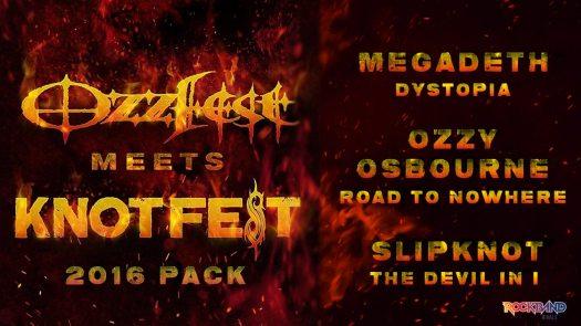 Rock Band 4 New DLC Pack Celebrating Ozzfest Meets Knotfest Sep. 20