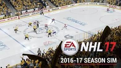 NHL 17 2016-17 Season Simulation