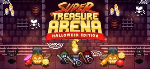 SUPER TREASURE ARENA Halloween Update Now Live