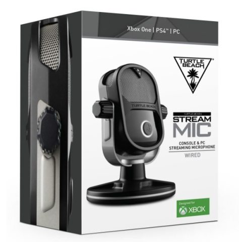 Turtle Beach Launches Livestreaming's Powerful New Voice For Gamers STREAM MIC