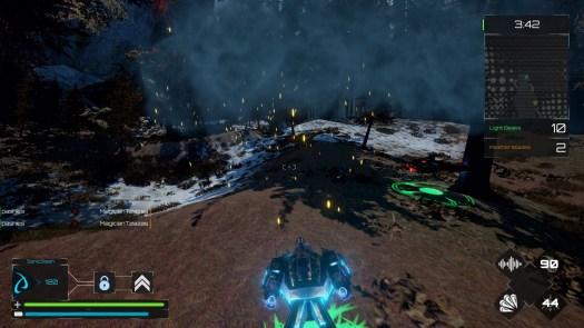 CRASH FORCE Hovercraft Shooter Enters Open Beta on Steam