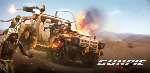 GUNPIE ADVENTURE Action-Packed Mobile FPS Available Now for Mobile