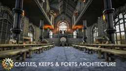 Castles, Keeps, and Forts Architecture