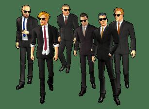 Reservoir Dogs Full Character Pose