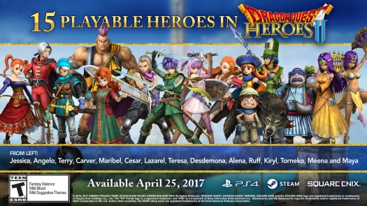 Dragon Quest Heroes II Cast Revealed