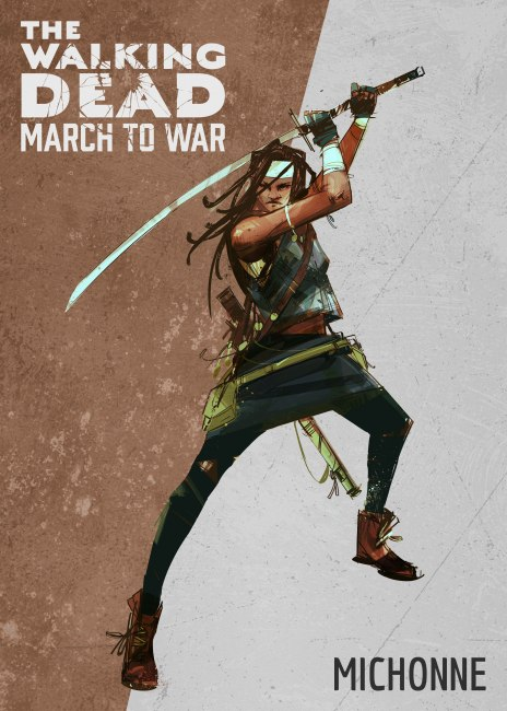 The Walking Dead: March to War Council System Revealed