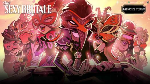 The Sexy Brutale Launches Today for PC and Consoles