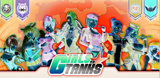 Pre-registration Now Open for Sexy Strategy War Game Girls on Tanks on Nutaku