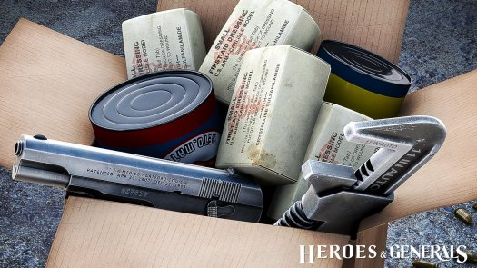 Heroes & Generals Care Package Update Adds Three New Pistols