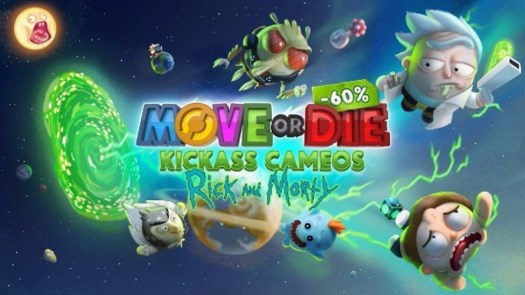 MOVE OR DIE Rick and Morty Character Pack Now Available