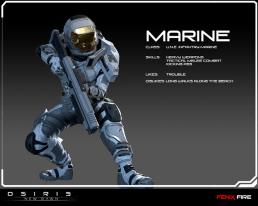 Osiris New Dawn Marine Gaming Cypher