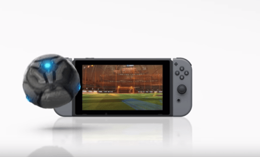 ROCKET LEAGUE Coming to Nintendo Switch Holiday 2017