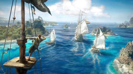 Skull & Bones by Ubisoft Enlists Friends and Foes to Captain Warships as Notorious Pirates, E3 Trailer