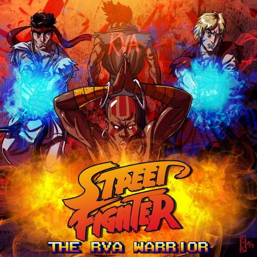 Street Fighter: The RVA Warrior Charity Album, Release Party Stream on Twitch Today
