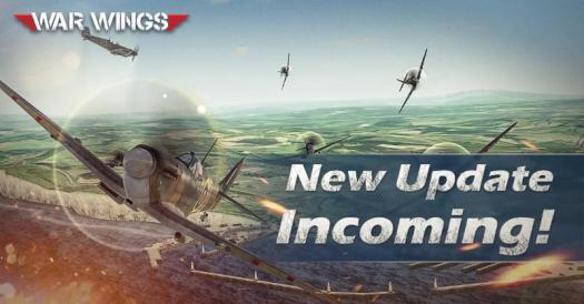War Wings Launches New Game Update