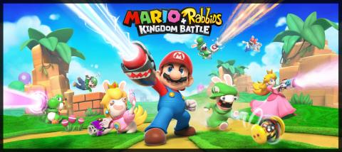 Nintendo to Publish Ubisoft's Mario + Rabbids Kingdom Battle in Japan and Korea