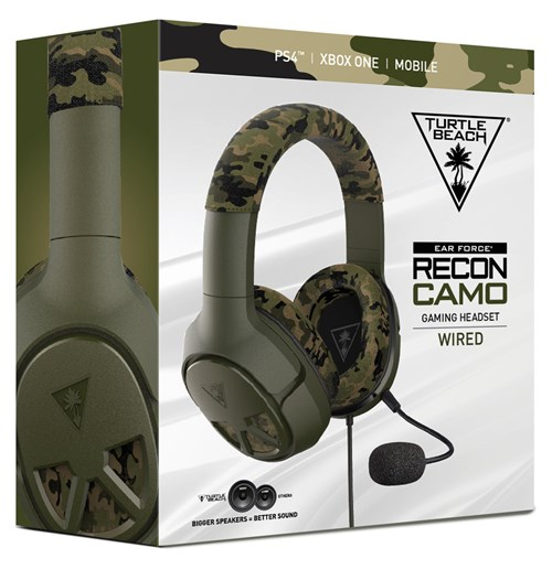 Turtle Beach Announces New Recon Camo Multiplatform Gaming Headset