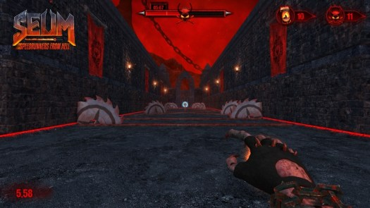 Run Like the Devil to Get Your Beer Back in SEUM: Speedrunners From Hell