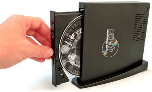 Seedi - Retro Gaming System Needs Your Support on Indiegogo, Lets Your Play Classic CD Games
