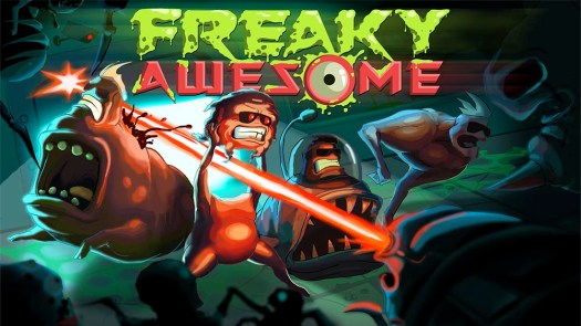 FREAKY AWESOME Hectic Action Rogue-Lite Coming to Steam Oct. 18