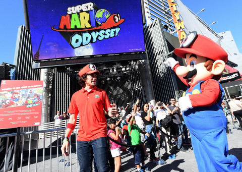 Nintendo Photos of Mario's Odyssey Event at Universal CityWalk Revealed