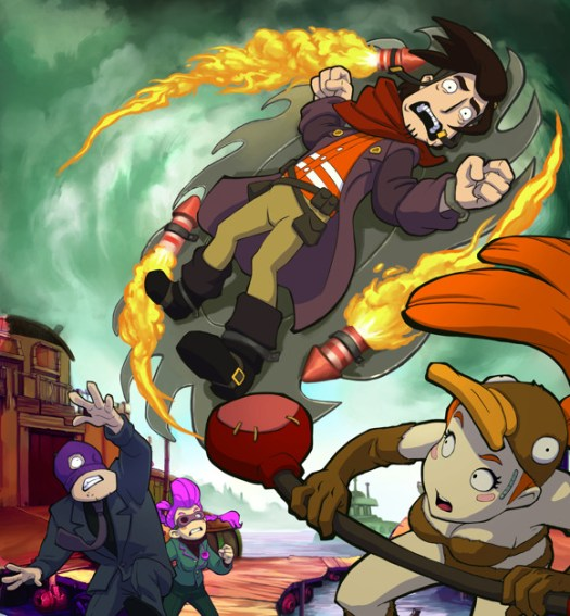 Chaos on Deponia: Rufus Comes Back to PS4 and Xbox One on Dec. 6