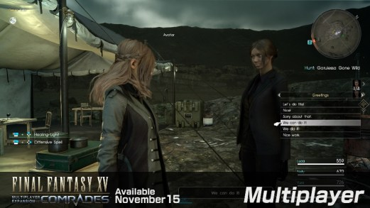 Final Fantasy XV Multiplayer Gaming Cypher 2