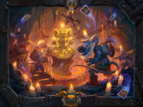 Long-Lost Treasures Await Hearthstone Players in Kobolds & Catacombs
