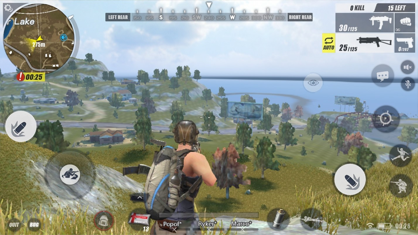 rules of survival gold rank