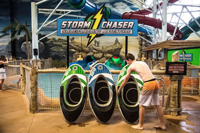 STORM CHASER Waterslide Offers Interactive Video Game Experience & Friendly Competition
