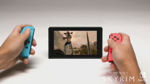 The Elder Scrolls V: Skyrim Now Available Worldwide for Nintendo Switch and PlayStation VR