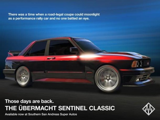 GTA Online: Festive Surprise 2017, Ubermacht Sentinel Classic and Occupy Adversary Mode