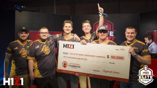 Daybreak's H1Z1 Elite Series DreamHack Winter Tournament Results