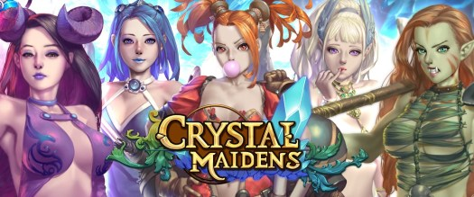 Nutaku Indie Studio Investment Breathes Life into Real-Time Strategy RPG CRYSTAL MAIDENS