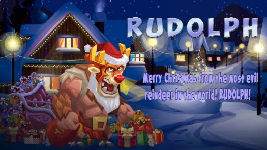 Hard-Hitting Demented Rudolph Now Available in Tactical Monsters Rumble Arena