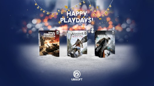 Ubisoft Extends its Happy Playdays Offering Players Free Digital PC Games