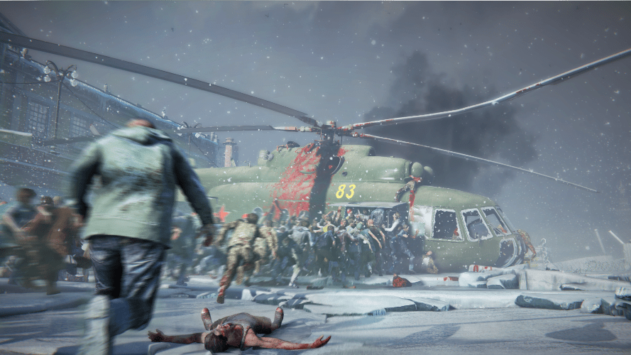 Saber Interactive & Paramount Pictures Announce WORLD WAR Z