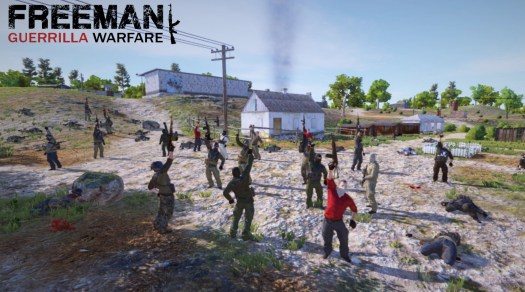 Freeman: Guerrilla Warfare Available Now on Steam Early Access