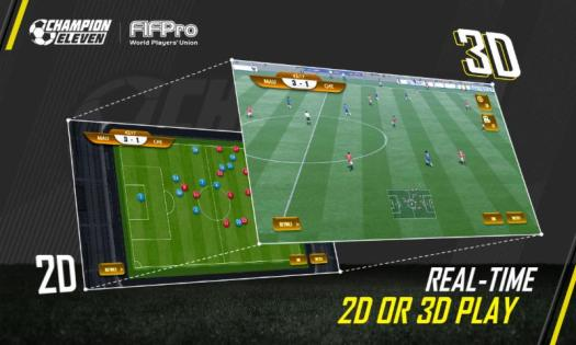 CHAMPION ELEVEN FIFPro-Authorized Mobile Game Announced by MeoGames