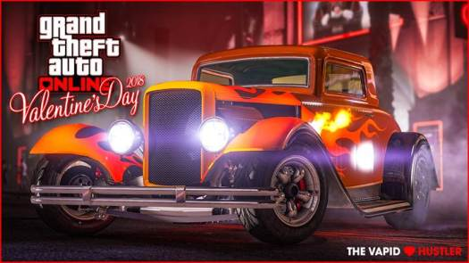 GTA Online the New Vapid Hustler, Valentine's Discounts, Bonuses and More