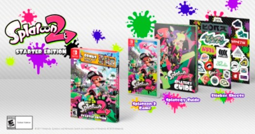 "Nintendo Announces Splatoon 2 Starter Edition to Launch March 16; Pearl and Marina ""Off the Hook"" amiibo Coming Later this Year"